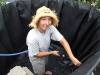 Rinsing new liner (Medium)