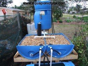 Barrel Ponics System
