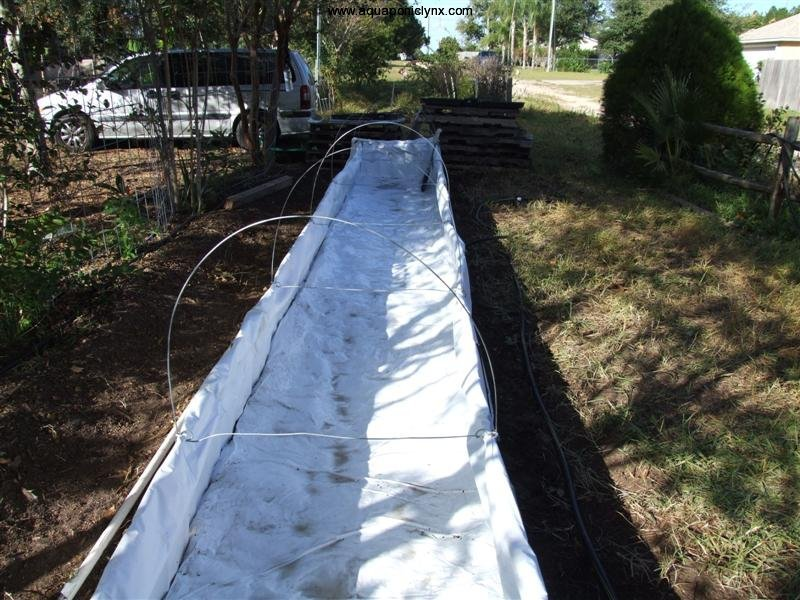 Patrick aquaponic liner for Hydroponic bed liner