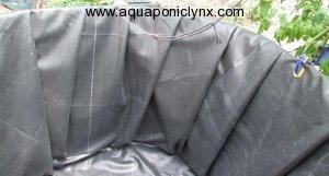 Folding liner