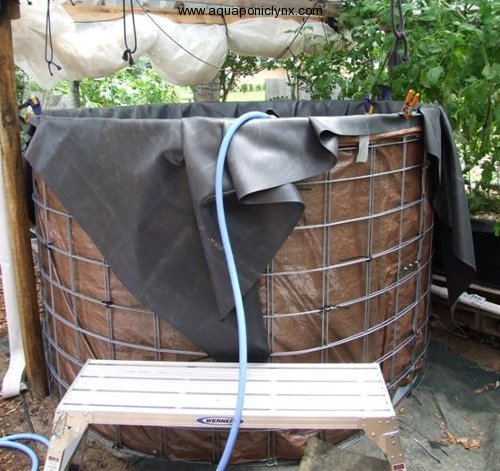 Liner for new tank