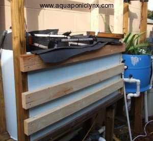 Lumber liner shelf tank