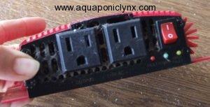 old inverter plugs