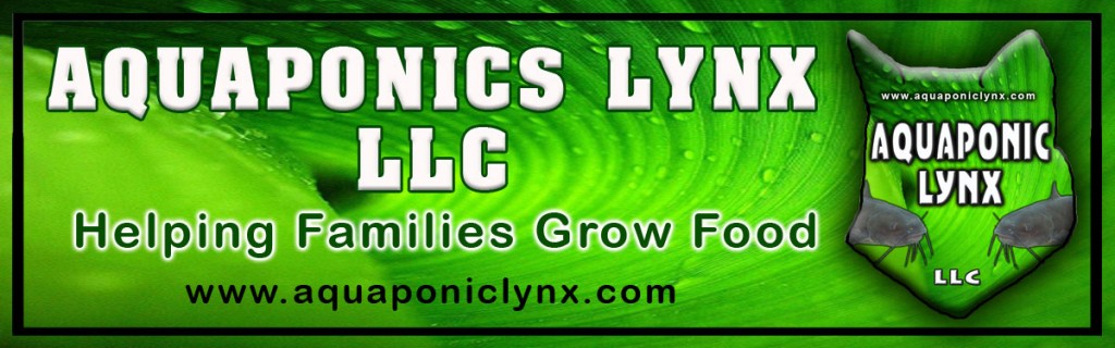 Aquaponic Lynx bumper-sticker