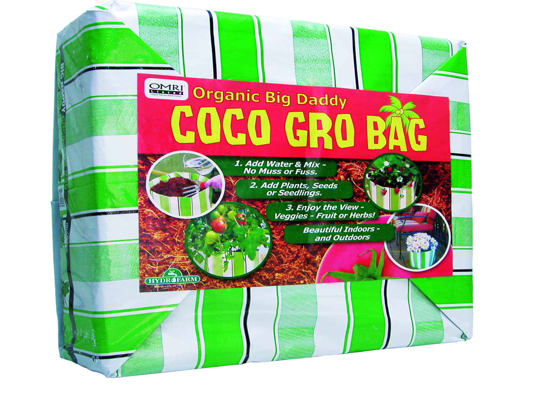 The big daddy organic coco gro bag aquaponic lynx llc for Bubblemac aeration products
