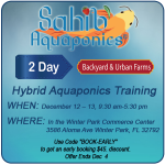 Backyard & Small Urban Farming Aquaponic Workshop
