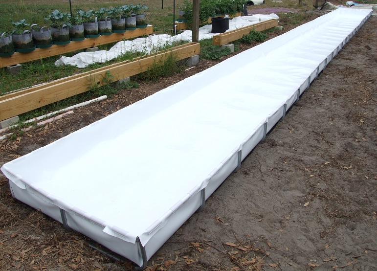 Introducing raftmaster aquaponic lynx llc for Hydroponic bed liner